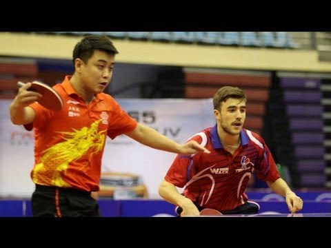 China Open 2013 Highlights: Ma Long/Timo Boll vs Wang Hao/Quentin Robinot (1/2 Final)