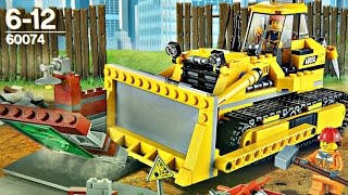 getlinkyoutube.com-Bulldozer / Buldożer - 60074 - Lego City - Recenzja