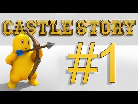 Castle Story - Prototype:  rzut okiem, podstawowe funkcje, pierwsze wrażenia