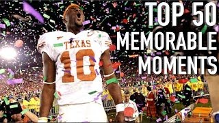 50 Most Memorable Moments in College Football History