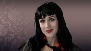 Vampire Makeup Tutorial for Halloween - Full How-to Application