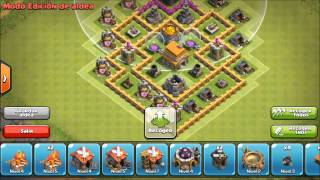 getlinkyoutube.com-Aldea Ayuntamiento Nivel 6 CoC