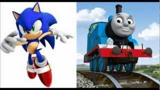 getlinkyoutube.com-Sonic the Hedgehog and Thomas and Friends in Circle of Life