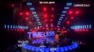 getlinkyoutube.com-Xiah Junsu & Jang Ri In - Timeless LIVE [eng sub + roman]