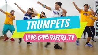 getlinkyoutube.com-Trumpets | Zumba® | Live Love Party | Dance Fitness | Trumpets Challenge |  #DUTTYSTEPPINZ