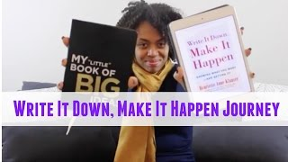 getlinkyoutube.com-Write It Down Make It Happen Journey Update (October - Previously Recorded) | NATURALLY KAI
