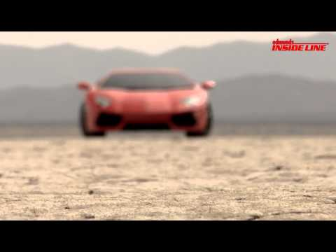 Inside Line: Behind the Scenes with the 2012 Lamborghini Aventador LP700-4