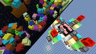 getlinkyoutube.com-Zement Klonmaschine (108.000 Items pro Stunde)! - Minecraft Map