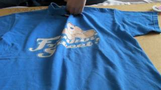 getlinkyoutube.com-How to make a large t-shirt fitted with sewing