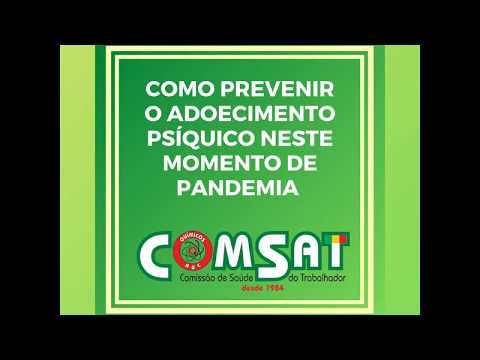 COMSAT: Distanciamento social e home office