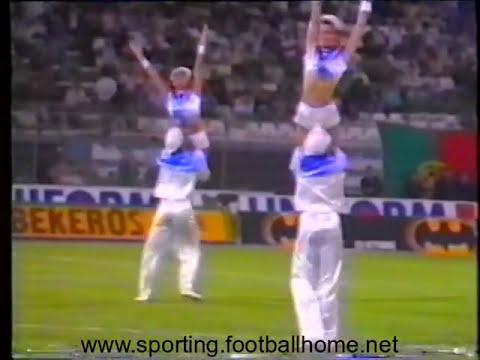 Reportagem do antes, durante e depois do Sporting - 0 Nápoles - 0 de 1989/1990