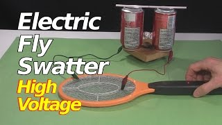 getlinkyoutube.com-Electric Fly Swatter/Zapper Racket High Voltage Power Supply