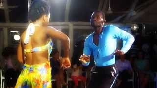 getlinkyoutube.com-KIZOMBA NATION, Angola Kizomba show in Chá de Caxinde (Luanda - Angola)