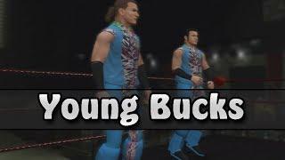 getlinkyoutube.com-ROH & NJPW: Young Bucks Entrance (WWE 2K14)