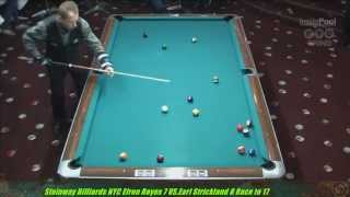 getlinkyoutube.com-Efren Reyes VS  Earl Strickland The Battle of Legends 5x10 8-Ball Uncut Original
