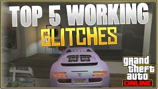 getlinkyoutube.com-GTA 5 Online: TOP 5 WORKING GLITCHES! *After Patch 1.29/26* | (Best Working Glitches)