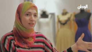 أزياء سهرة 2013 مع هبة إدريس