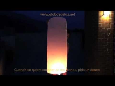 Video Globos de Luz. Instrucciones