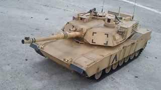 getlinkyoutube.com-Henglong M1A2 1/16 IR Version Full Option Upgrade No.02
