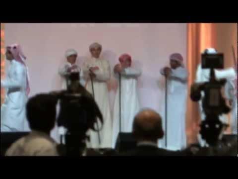 SAUDI TRADITIONAL DANCE - SACM Graduation '13, USA / رقص سعودي