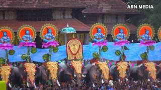 Thrissur Pooram Kudamattam 2016 തൃശൂർ പൂരം കുടമാറ്റം