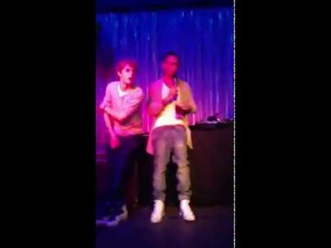 Aston Merrygold and Niall Horan - JLS 4D Tour Afterparty 2012
