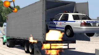 getlinkyoutube.com-BeamNG.Drive Mod : Semi Trailer v7 (Crash test)