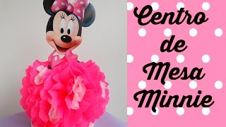getlinkyoutube.com-Centro de Mesa Minnie Mouse (Centerpiece Minnie Mouse)