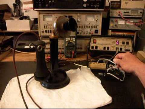 Candle Stick Telephone Repair  www.A1-Telephone.com  618-235-6959