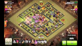 Clash of clans 5 golem attack on 'eyes wide open'