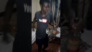 Museveni's grandson dancing to