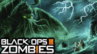 """ZETSUBOU NO SHIMA"" CTHULHU MONSTER EASTER EGG STORYLINE EXPLAINED! (Black Ops 3 ZOMBIES Storyline)"