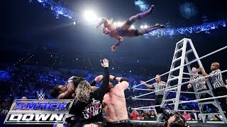 getlinkyoutube.com-Roman Reigns, Randy Orton & Neville vs. Sheamus, Kane & Kofi Kingston: SmackDown, June 11, 2015