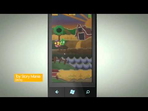 Microsoft Announces Windows Phone 7 Games