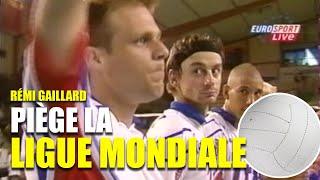 フランスのカオス王子、バレーボールの試合に混ざり込む