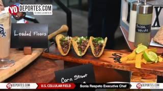 Llegaron los tacos White Sox US Cellular Field Media Tour 2016