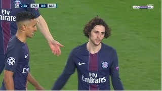 Adrien Rabiot vs Barcelona (Home) 2016/17