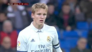 getlinkyoutube.com-Martin Ødegaard vs Cultural Leonesa 720HD 30/11/16 by RealMadrid.Universe