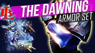 getlinkyoutube.com-Destiny The DAWNING COMPLETE ARMOR SET - Warlock Hunter Titan