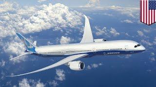 getlinkyoutube.com-Dreamliner 787-10 rollout: longer Boeing aircraft makes debut in South Carolina - TomoNews