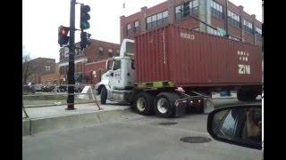 getlinkyoutube.com-WORST Semi Truck Driver EVER