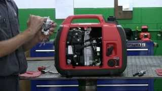 getlinkyoutube.com-How To Clean the Carburetor on a Honda Generator