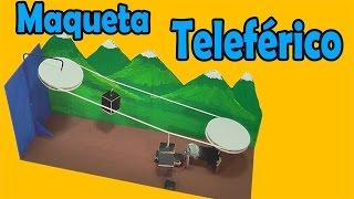 Cómo Hacer Un Teleférico Casero (muy fácil de hacer)
