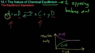 18.1 The Nature of Chemical Equilibrium