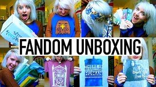 getlinkyoutube.com-HUGE FANDOM UNBOXING- Harry Potter, Doctor Who, and MORE!