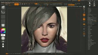 getlinkyoutube.com-Fibermesh Timelapse - Medium Length Hair