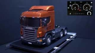 getlinkyoutube.com-Super realistic RC truck (Scania Tamiya) movement and sound