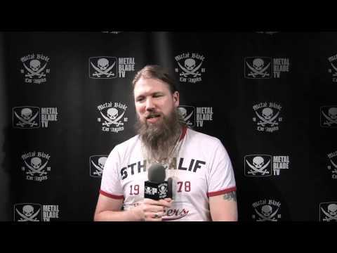 Amon Amarth &quot;Surtur Rising&quot; song concepts described by Johan Hegg