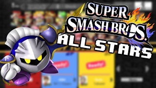 Super Smash Bros. Allstars - CUSTOM CHARACTERS AND STAGES