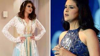 getlinkyoutube.com-جميلة الجميلات الفاتنة سلمى رشيد تحـفة القفطان المغربي Salma Rachid Caftan Top Collection Luxe HD